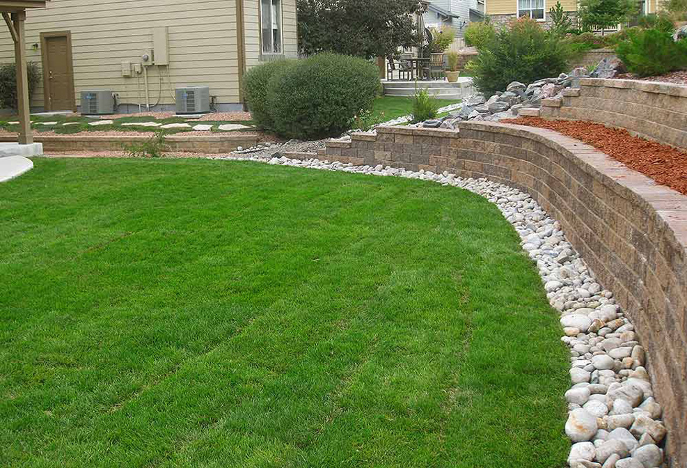 Tiered-Retaining-Wall